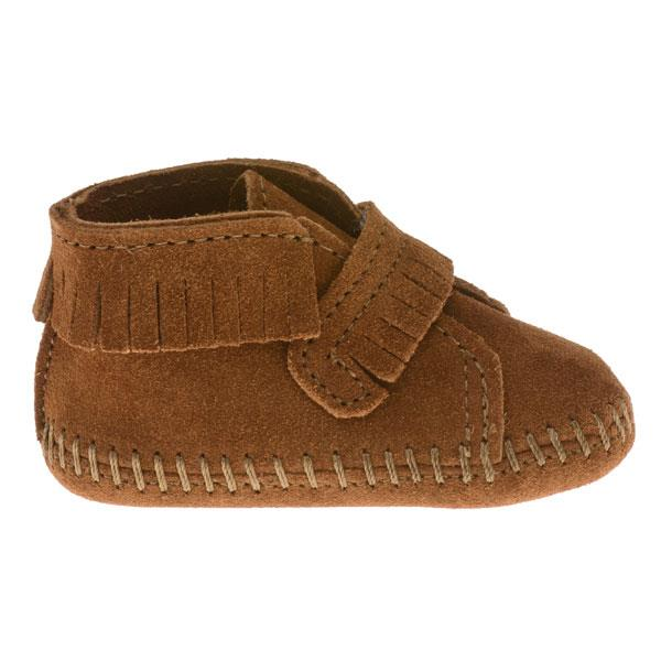 Minnetonka Moccasins 1122 Infants Front Strap Bootie
