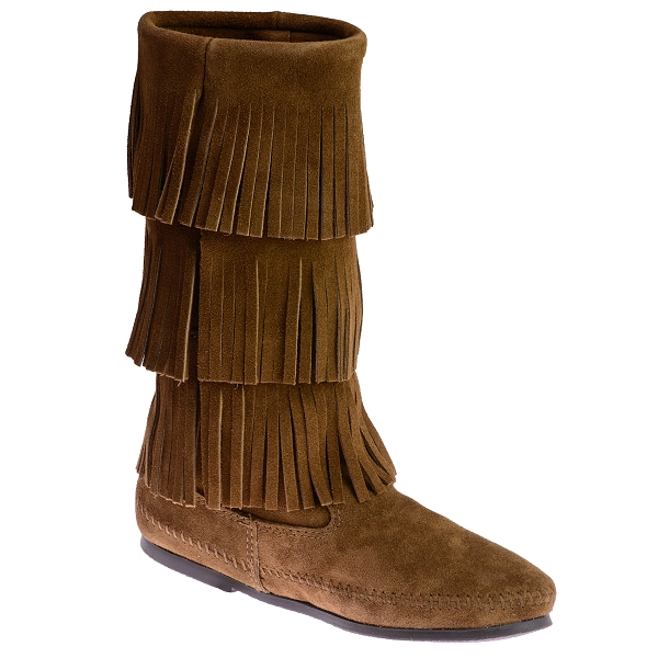 minnetonka moccasins 1638 s 3 layer calf high