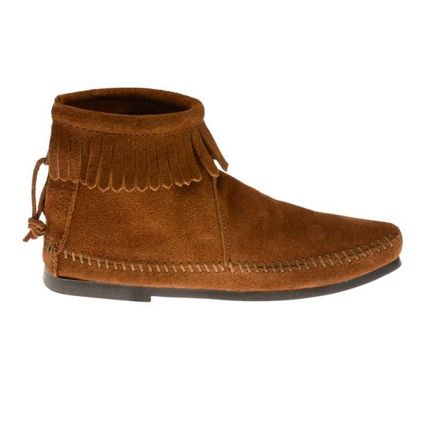minnetonka moccasins 282 s hardsole ankle boot