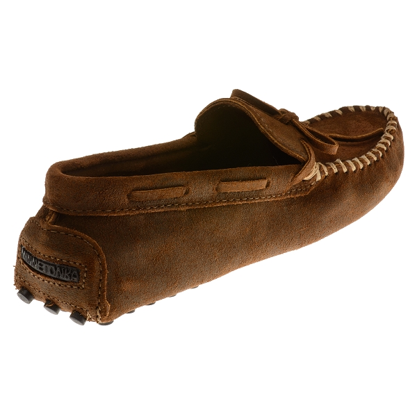 Minnetonka Moccasins 793 Men S Rough Leather Cowhide
