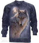 Adventure Wolf - Adult Long Sleeve T-shirt