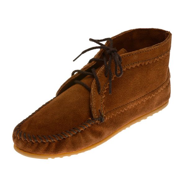 minnetonka moccasins 272 s ankle boot brown suede