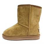 Oomphies For Kids - Kids Classic Boot - Chestnut Suede - K0712