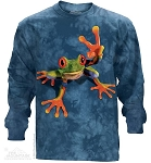 Victory Frog - Adult Long Sleeve T-shirt