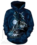 Bark At The Moon - Adult Hoodie