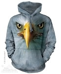 Eagle Face - Adult Hoodie