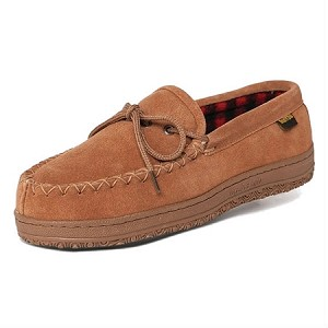 Old Friend Footwear - 588161 - Men's Wisconsin Loafer Moccasin - Chestnut