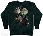 Three Wolf Moon - Crew Sweatshirt