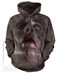 Zombie Face - Adult Hoodie