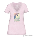 Relax - Pink - 41-6338- Women's Triblend V-Neck Tee