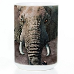 Elephant Face - 57-3260-0900 - Everyday Mug