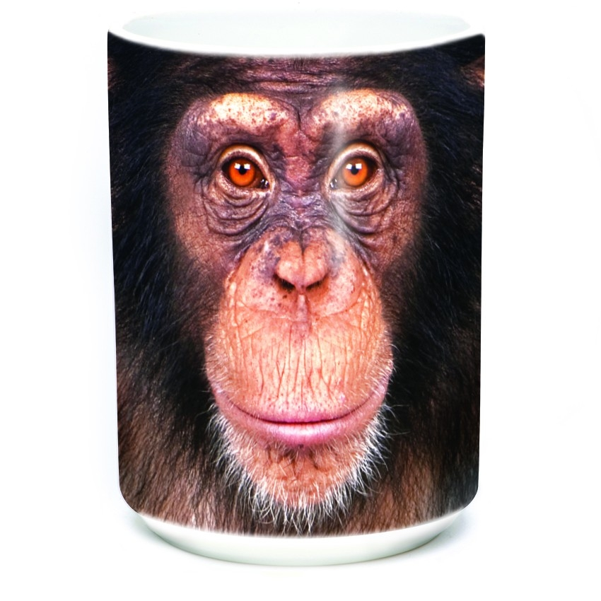 Chimp Face - 57-3572-0900 - Everyday Mug