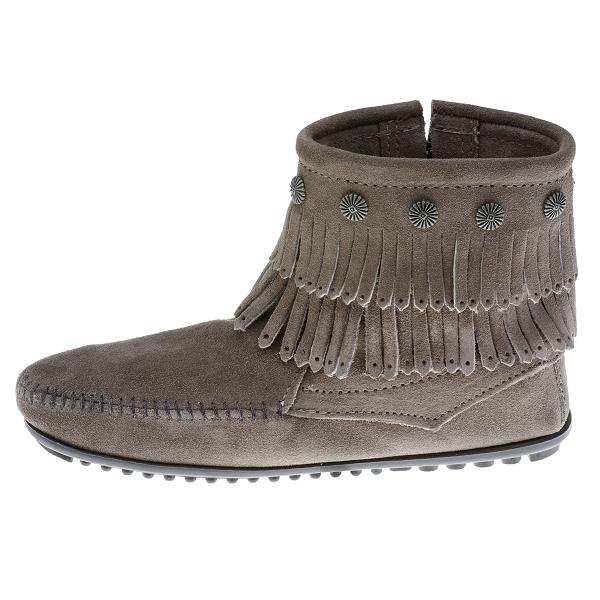 Minnetonka Moccasins 691t Women S Double Fringe Boot