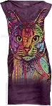 Abyssinian Cat - Ladies Mini Dress