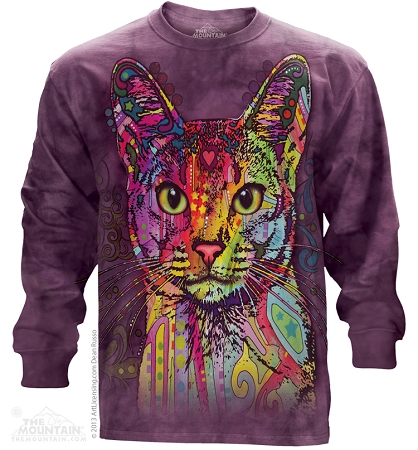 Abyssinian Cat - 45-3851 - Adult Long Sleeve T-shirt