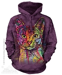 Abyssinian Cat - 72-3851- Adult Hoodie