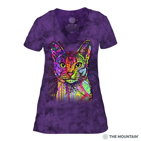 Abyssinian - 41-3851 - Women's Triblend V-Neck Tee