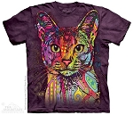 Abyssinian Cat - 10-3851 - Adult Tshirt