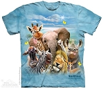 African Selfie - 15-4987 - Youth Tshirt