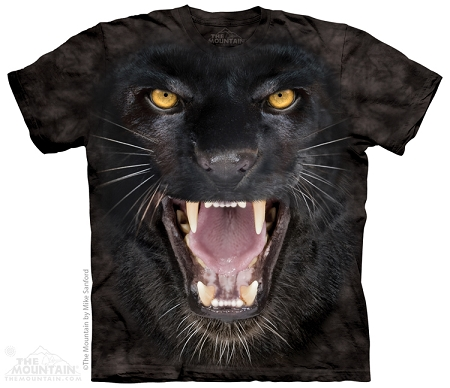 Aggressive Panther - 10-3889 - Adult Tshirt