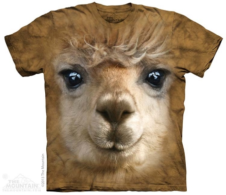 3596 Big Sloth Face The Mountain T-Shirt All Sizes
