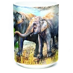 Asian Elephants - 57-5979-0901 - Everyday Mug