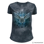 Awake Your Magic - 26-5840 - Women's Triblend Crew-Neck Tee