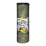 Away Is A Place...Go There! - 59-6308 - Stainless Steel Barista Travel Mug