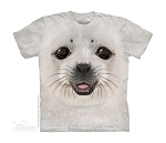 Big Face Baby Seal - 15-3946 - Youth Tshirt