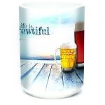 Life Is Brewtiful - 57-6365-0901 - Coffee Mug