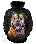 Beware of Pit Bulls...They Will Steal Your Heart - Adult Hoodie