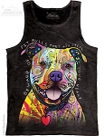 Beware Of Pit Bulls...They Will Steal Your Heart - Adult Tank Top