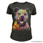 Beware of Pit Bulls - 26-3796 - Women's Triblend Crew-Neck Tee