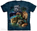 Big Jungle Cats - 10-3315 - Adult Tshirt