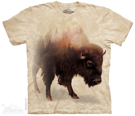 Bison Forest - 10-4292 - Adult Tshirt