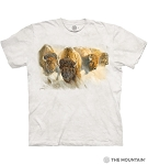 Bison Herd - 10-6279 - Adult Tshirt