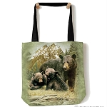 Black Bear Family - 97-5980 - Everyday Tote