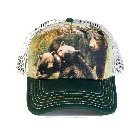 Black Bear Family - 76-5980 - Trucker Hat