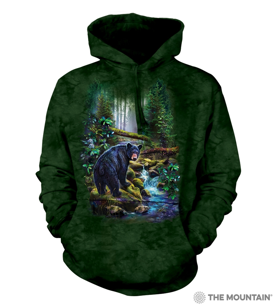 Black Bear Forest - 72-6164 - Adult Hoodie
