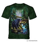 Black Bear Forest - 10-6164 - Adult Tshirt