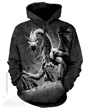 Black Dragon - 72-1252 - Adult Hoodie
