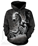 Black Dragon - Adult Hoodie