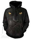 Black Panther Face - Adult Hoodie