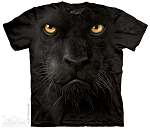 Black Panther Face - 15-3246 - Youth Tshirt