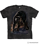 Black Panther Portrait - 10-6277 - Adult Tshirt