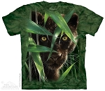 Wild Eyed Black Panther - 10-3539 - Adult Tshirt