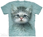 Blue Eyed Kitten - 10-3465 - Adult Tshirt