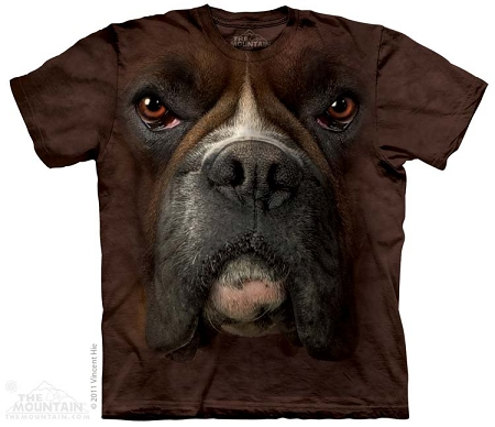 Boxer Face - 10-3257 - Adult Tshirt