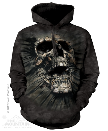 Breakthrough Skull - 72-6247 - Adult Hoodie