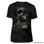 Breakthrough Skull - 54-6247 - Men's Triblend T-shirt